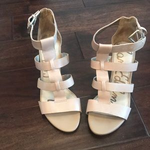 Sam Edelman strapping wedges